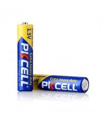 Батарейка солевая PKCELL 1.5V AAA / R03, 2 штуки в блистере. Q12