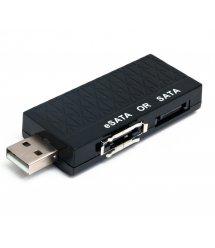 Конвертер USB 2.0 SATA / eSATA, OEM