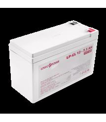Аккумулятор гелевый LogicPower LP-GL 12 - 7,5 AH SILVER