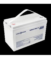 Аккумулятор мультигелевый AGM LogicPower LP-MG 12 - 100 AH SILVER