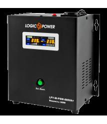 ИБП Logicpower LPY- W - PSW-800VA+ (560Вт) 5A/15A с правильной синусоидой 12В