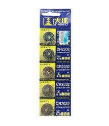 Батарейка литиевая China CR2032, 5 шт