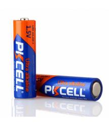 Батарейка щелочная PKCELL 1.5V AA / LR6, 2 штуки в блистере цена за блистер, Q12