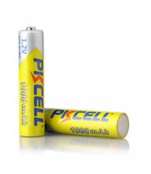 Аккумулятор PKCELL 1.2V AAA 1000mAh NiMH Rechargeable Battery, 2 штуки в блистере цена за блистер, Q12