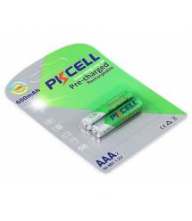 Аккумулятор PKCELL 1.2V AAA 600mAh NiMH Already Charged, 2 штуки в блистере цена за блистер, Q12