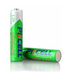 Аккумулятор PKCELL 1.2V AAA 1000mAh NiMH Already Charged, 2 штуки в блистере цена за блистер, Q12