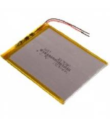 Литий-полимерный аккумулятор 3*75*95mm (Li-ion 3.7В 3800мА&ampmiddotч)
