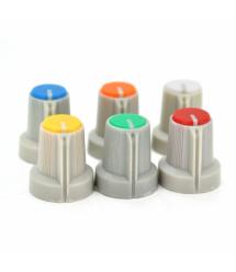Ручка AG1 для многооборотных прецезионных проволочных потенциометров WH148, Blue, 100шт в упаковке, цена за штуку