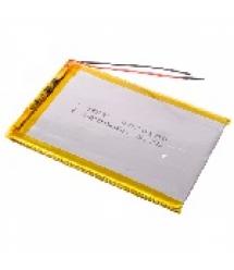 Литий-полимерный аккумулятор 3.5*75*85mm (Li-ion 3.7В 3800мА&ampmiddotч)