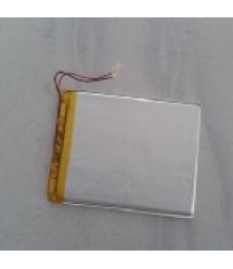 Литий-полимерный аккумулятор 3.5*75*90mm (Li-ion 3.7В 3000мА&ampmiddotч)