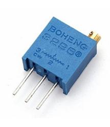 Резистор подстроечный BAOTER 3296W-1-102LF, 1 кОм, 50 штук в упаковке, цена за штуку