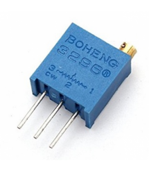 Резистор подстроечный BAOTER 3296W-1-103LF, 10 кОм, 50 шутк в упаковке, цена за штуку