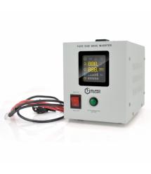 ИБП с правильной синусоидой Europower PSW-EPW500TW12 (300 Вт) 5 / 10А, под внешнюю АКБ 12В , Q4 (300*198*235) 4,25 кг (235*145*1