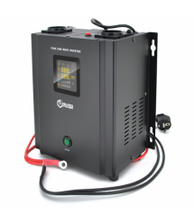 ИБП с правильной синусоидой Europower PSW-EP500WM12 (300 Вт) 5 / 10А настенный, под внешнюю АКБ 12В , Q2 (355*325*215) 5 кг (255