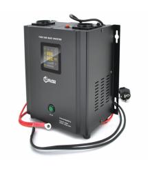 ИБП с правильной синусоидой Europower PSW-EP800WM12 (480 Вт) 5 / 10А настенный, под внешнюю АКБ 12В , Q2 (355*325*215) 5,75 кг (