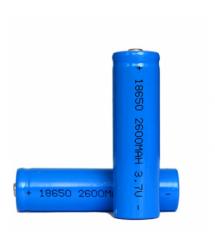 Аккумулятор Li-ion 18650 1650mAh 3.7V, Blue