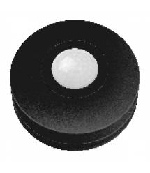 Датчик движения «НЛО мини 1D» черный, 360°, расстояние макс. 6м, IP20, макс. нагрузка 1200Вт