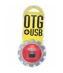 Переходник YHL T3 USB 2.0 AF - Micro-B OTG, Black, OEM