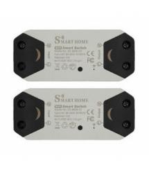 Беспроводной Wifi выключатель Smart home 2 шт 10A 90-250V