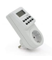 Розетка таймер с программой на включение и отключение для управления потребляемой мощностью подключенных устройств