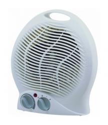 Тепловентилятор спиральный DT-3100, 2000Вт, 2 режима 1000 - 2000Вт, холодный - теплый - горячий