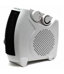 Тепловентилятор спиральный DT-3300, 2000Вт, 2 режима 1000 - 2000Вт, холодный - теплый - горячий