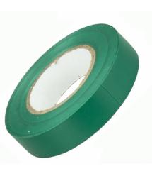Изолента 3M 0,13мм*18мм*10м (зеленая), диапазон рабочих температур: от - 10°С до + 80°С, высокое качество!!!, 10 штук в упаковке