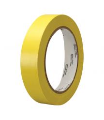 Изолента 3M 0,13мм*18мм*10м (желтая), диапазон рабочих температур: от - 10°С до + 80°С, высокое качество!!!, 10 штук в упаковке,