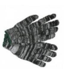 Перчатки ХБ ЗИМНИЕ серые 12 пар в упак. (480пар в мешке) цена указ. за упак.