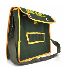 Сумка для монтажных инструментов LoGo 300*400мм, зелено-желтая
