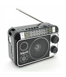 Радиоприемник Proinstal JC-302AR, FM радио, USB, AUX, корпус пластмасс, Black, BOX