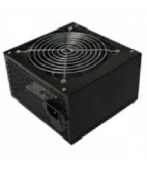 Блок питания Merlion 400W 12cm Black + кабель питания, 10шт в коробке, ОЕМ, (172х390х481мм)