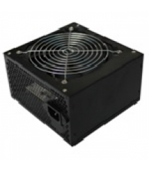 Блок питания Merlion 500W 12cm Black + кабель питания, 10шт в коробке, ОЕМ, (172х390х481мм)