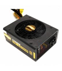 Блок питания компьютерный JM-1650W Yoso Bronze, 1x120cm FAN, CE, 6x2х(6+2)Pin 0,6М, 2x4Pin, 3xSATA, 1x20+4, 7x MOLEX (185*85*145