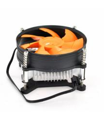 Кулер процессорный LGA 775 - 1156 - 1155 - i3 - i5 2200prm 220gr-Heatsink (up to I7 Cpu), 92-mm, 3-pin, orange