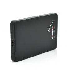 """Карман 2,5""""корпус пластик ,интерфейс USB3.0 SATA, Black"""