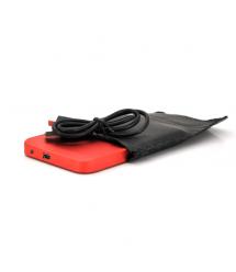 """Карман 2,5""""корпус металл ,интерфейс USB2.0 / SATA, Red"""