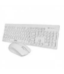 Комплект беспроводной (KB+Mouse) Keyboard Dock, (Eng / Pyc), USB, Multimedia Black, Box
