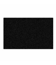 Коврик 180*220 тканевой, толщина 1,6 мм, цвет Black, Пакет