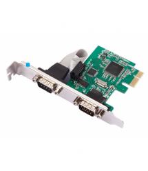 Контроллер PCI-Е-RS232(9Pin)+RS232(9Pin), 2 порта, TX382B-2S, BOX