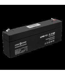 Аккумулятор кислотный AGM LogicPower LPM 12 - 2.3 AH