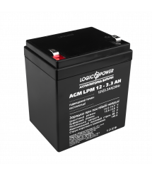 Аккумулятор кислотный AGM LogicPower LPM 12 - 3.3 AH