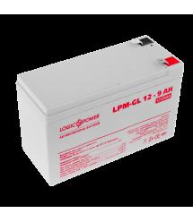 Аккумулятор гелевый LogicPower LPM-GL 12 - 9 AH, Белый