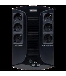 ИБП линейно-интерактивный LogicPower LP 650VA-6PS