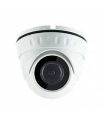 1MP камера купольная корпус металл AHD / HDCVI / HDTVI / Analog 720Р MERLION(обьектив 3.6мм / ИК подсветка 20м)