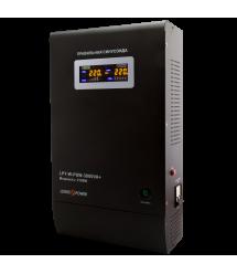 ИБП с правильной синусоидой LogicPower LPY-W-PSW-3000VA+ (2100W) 10A/15A 48V для котлов и аварийного освещения