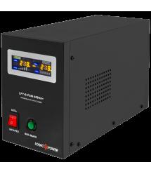 ИБП с правильной синусоидой LogicPower LPY-B-PSW-1000VA+ (700W) 10A/20A 12V для котлов и аварийного освещения