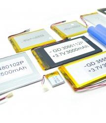Литий-полимерный аккумулятор 4*57*94mm (Li-ion 3.7В 3000мА&ampmiddotч)