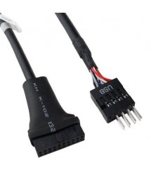 Переходник USB 3.0 USB 2.0 для материнской платы, 20pin (мама) to 8 pin (папа)