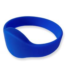 Браслет з кодом EM4100 &ampOslash65 мм силиконовый синий